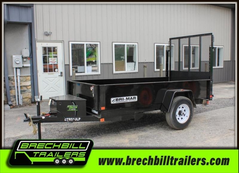 "Bri-Mar Dump Trailer 60""x10'x5K (DTR510LP-5)"
