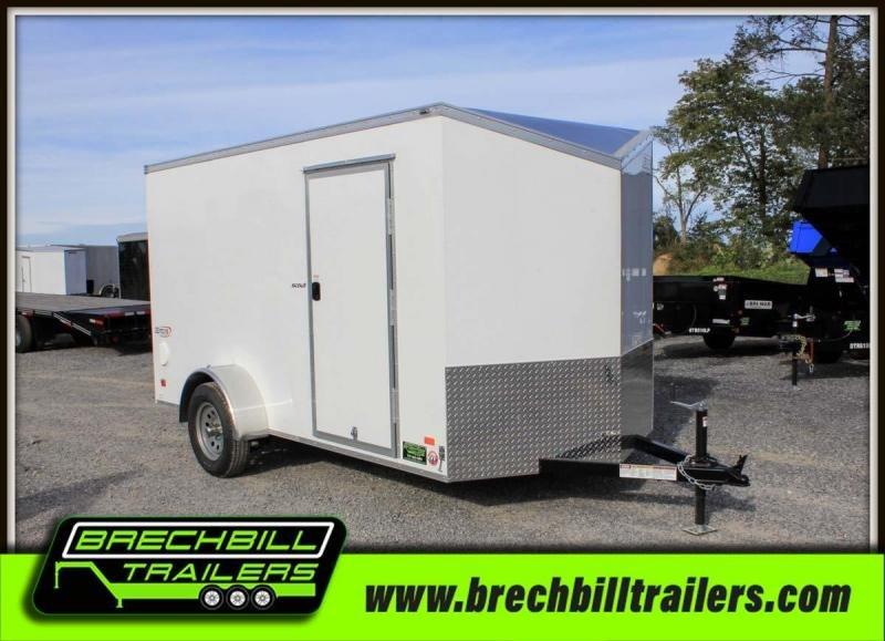 "Bravo Scout Enclosed Cargo Trailer 68""x12'5""x3K (SC612SA)"