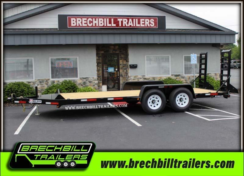 "Bri-Mar Equipment Trailer 82""x18'x12k (EH18-12)"