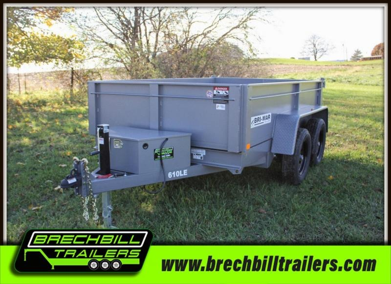 2020 Bri-Mar DT610LP-LE-7 Dump Trailer
