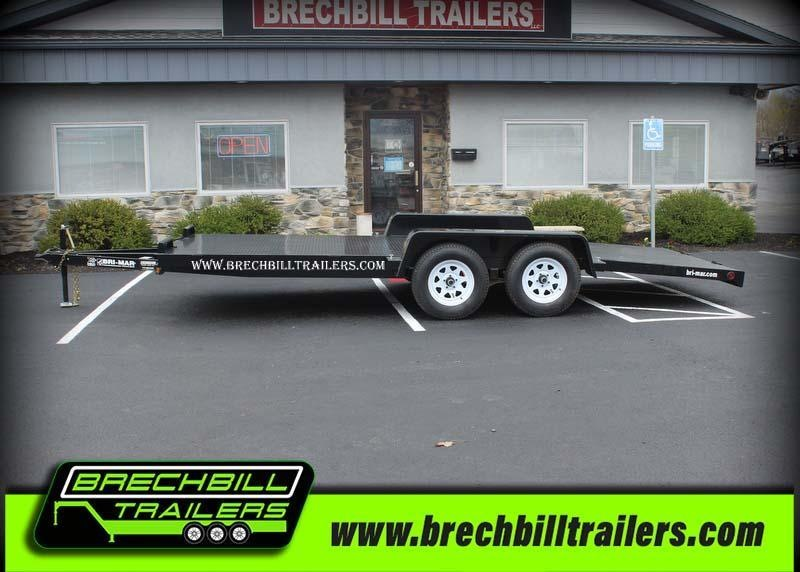 "Bri-Mar Car-Hauler Trailer 102""x18'x7K (CH18-7-FULL)"