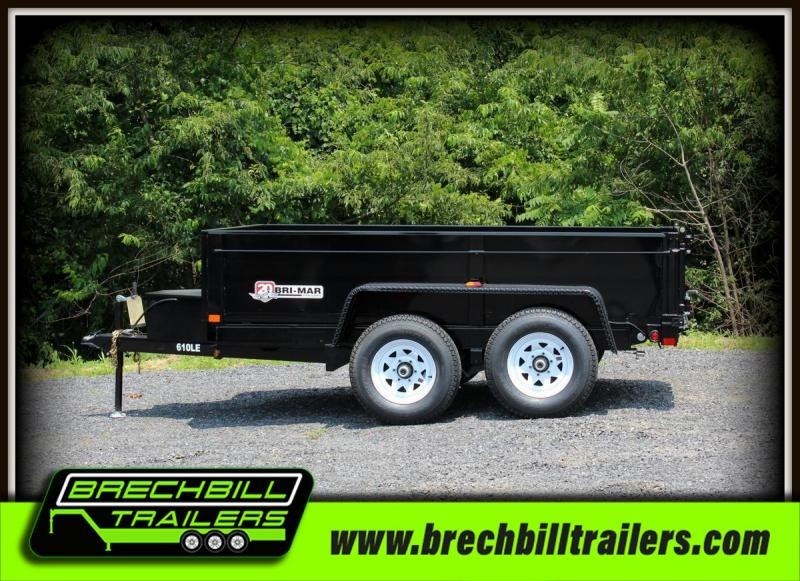Bri-Mar DT610LP-LE-10 Dump Trailer