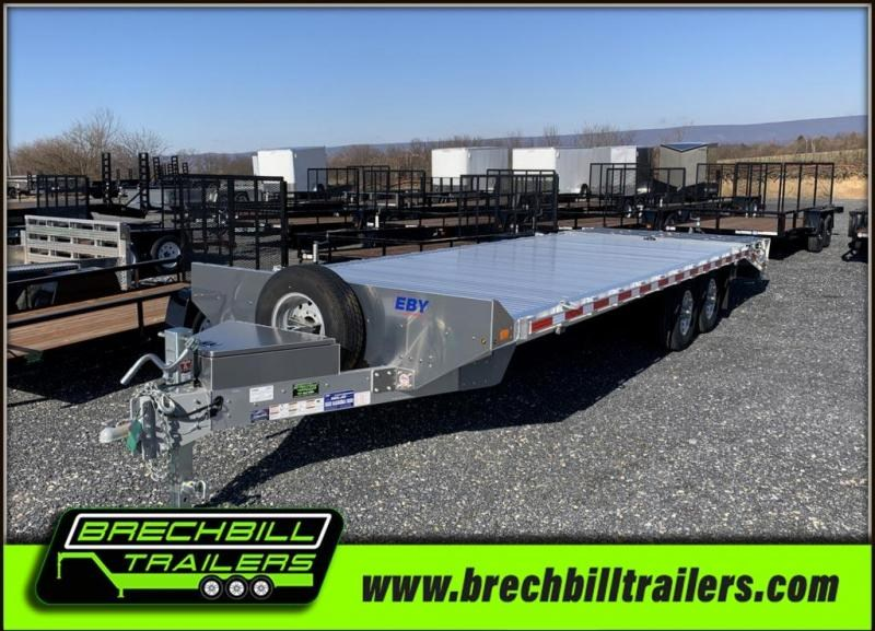 "EBY Deck-Over Equipment Trailer 24'6""x102""x14K (BH1EQP)"