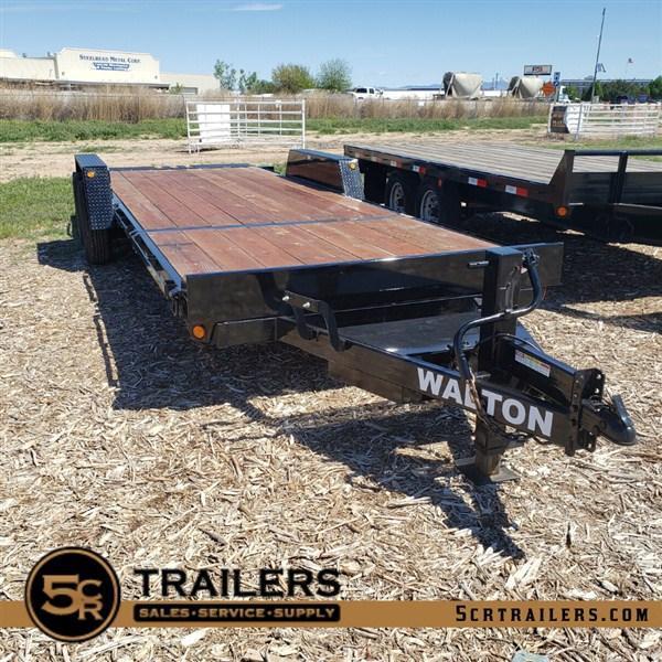 2020 Walton 22' Split-Deck Tilt Flatbed