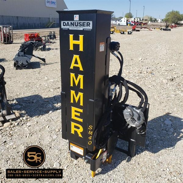 Danuser Hammer SM40 w/ Grapple and Tilt