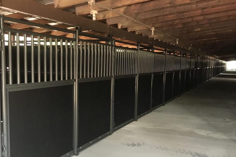 2020 WW Livestock Portable Equine Stalls