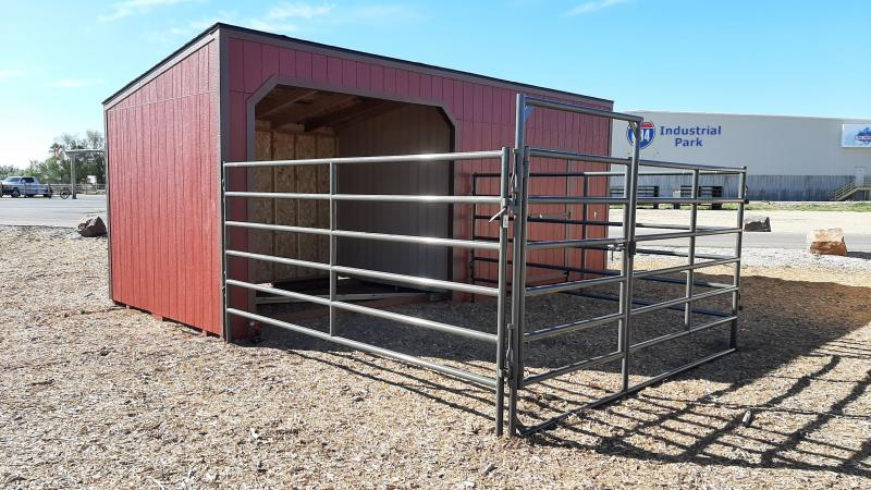 2021 Best Built Sheds Stall Tack Room Combo 10x24