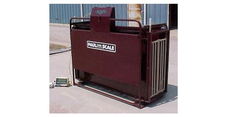 WW Livestock LFT 700s  Hog and Sheep Crate Scale