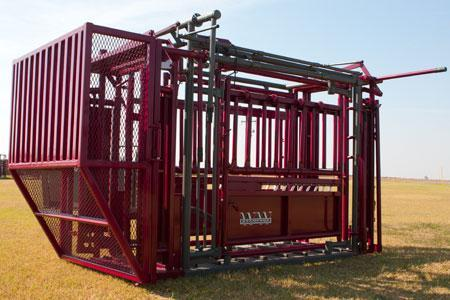 2020 WW Livestock Stampede Buffalo Crash Gate Chute