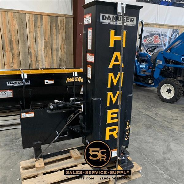 Danuser Hammer LM40 w/ Grapple and Tilt