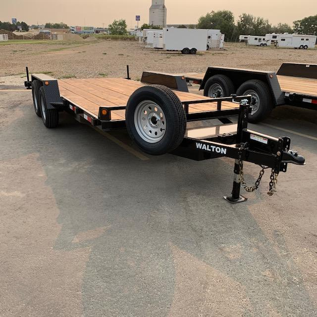 2020 Walton Trailers Walton Car Hauler Equipment Trailer
