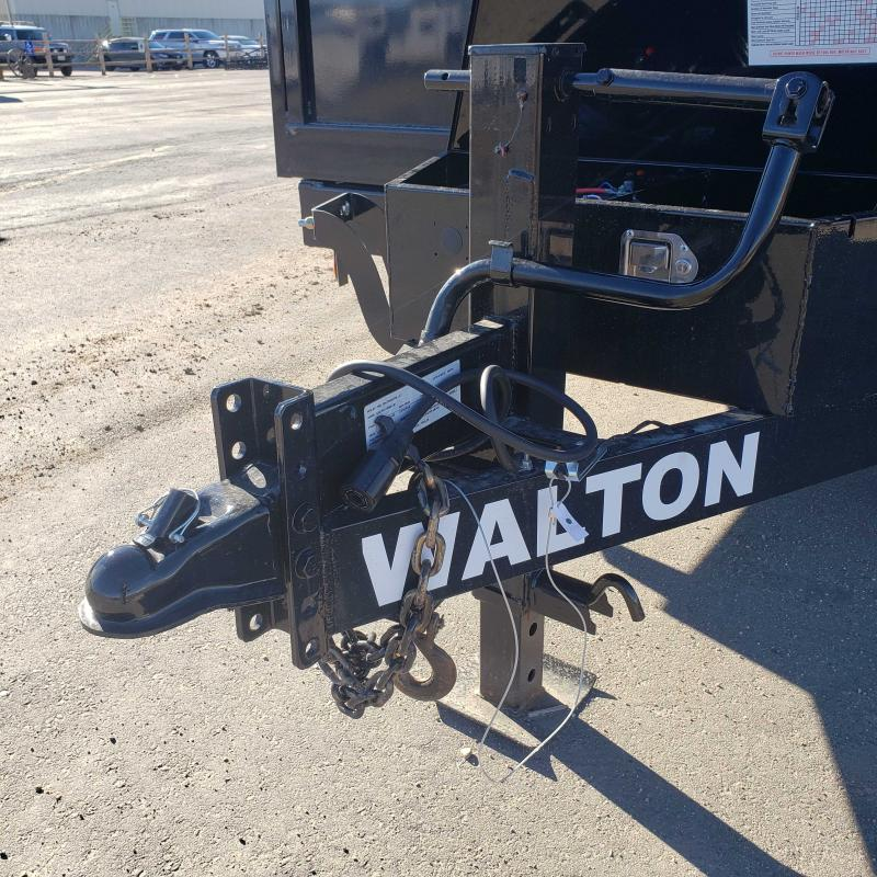 2020 Walton Trailers D1414 Dump Trailer