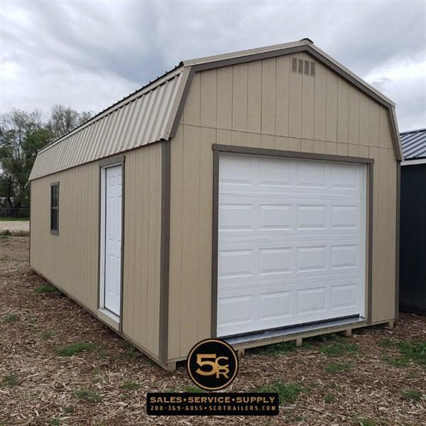 12x28 Hi-Side Shed Garage