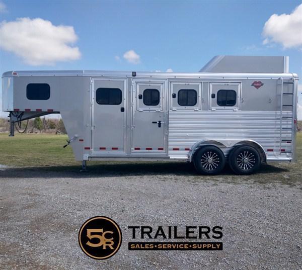 2021 Hart MVP 3H GN Horse Trailer