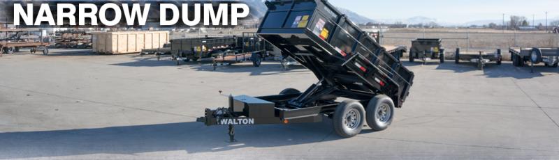 2021 Walton Trailers DW1010-N Dump Trailer