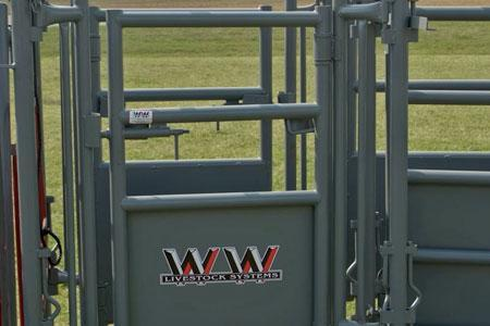 WW Livestock Beef Master Palpation Cage Chute Accessory
