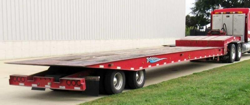 2012 Talbert SSTA3548 Flat Bed