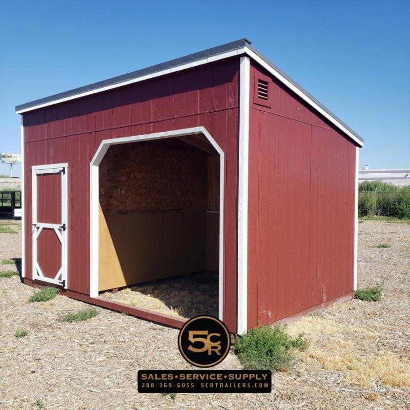 2021 Shed Center 10x16 Animal Shelter Barn