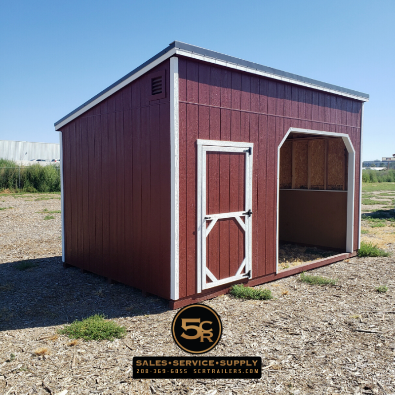 2021 Shed Center 10x16 Animal Shelter Barn