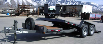 2021 Walton Trailers SST1416 Equipment Trailer