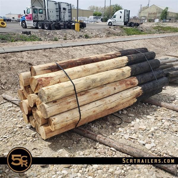 """Wood Posts - 8' x 7"""" Jumbo"""