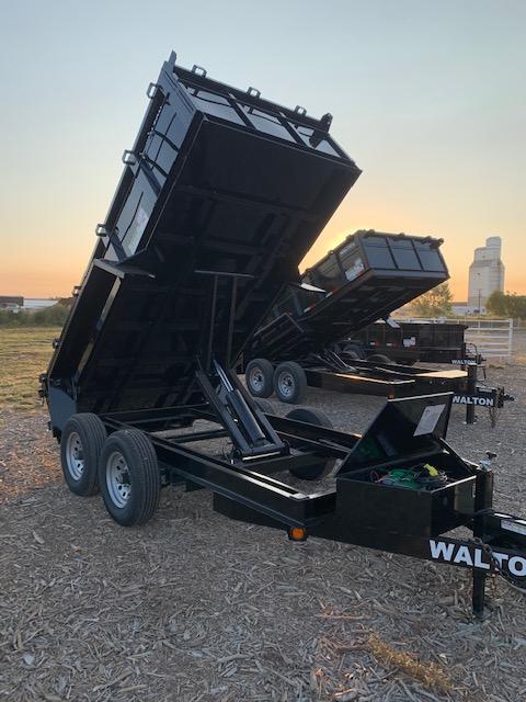 2021 Walton Trailers 12' Walton Dump Dump Trailer