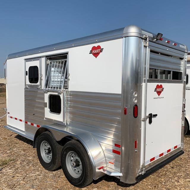 2021 Hart Trailers Solution Horse Trailer