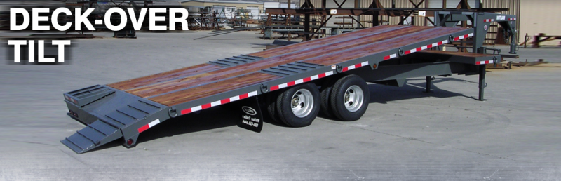 2021 Walton Trailers 24KTG Equipment Trailer