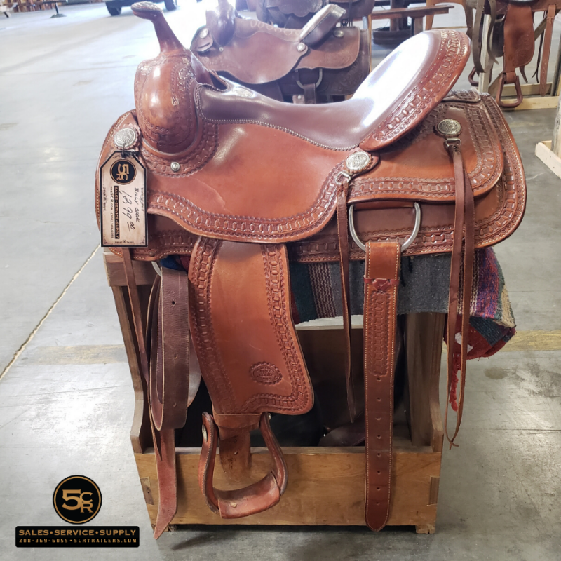 "2016 Billy Cook 16"" Western Saddle"