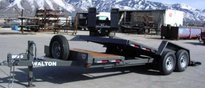 2021 Walton Trailers SST1016 Equipment Trailer