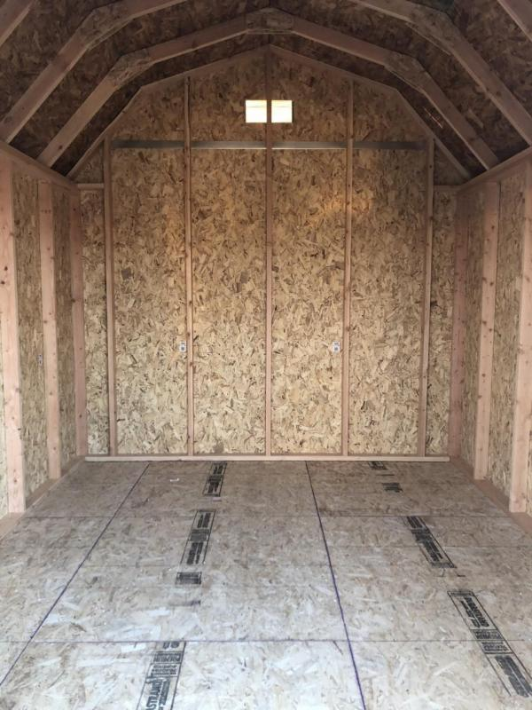 2020 Best Built Sheds The Barn 10' x 12'
