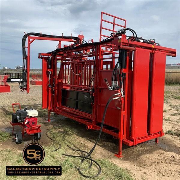 WLC 5000 CL Combo Cattleman Chute II