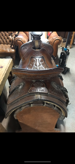 1947 Bentley Silva Antique Saddle