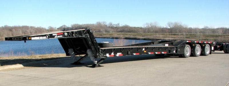 2021 XL Specialized XL 90 Hydraulic Folding Gooseneck: Railroad Special Other Semi-Trailer