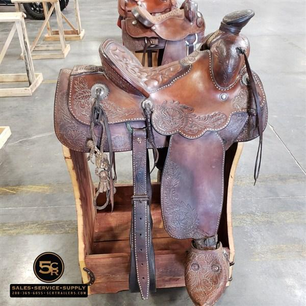 Bentley Silva Antique Saddle