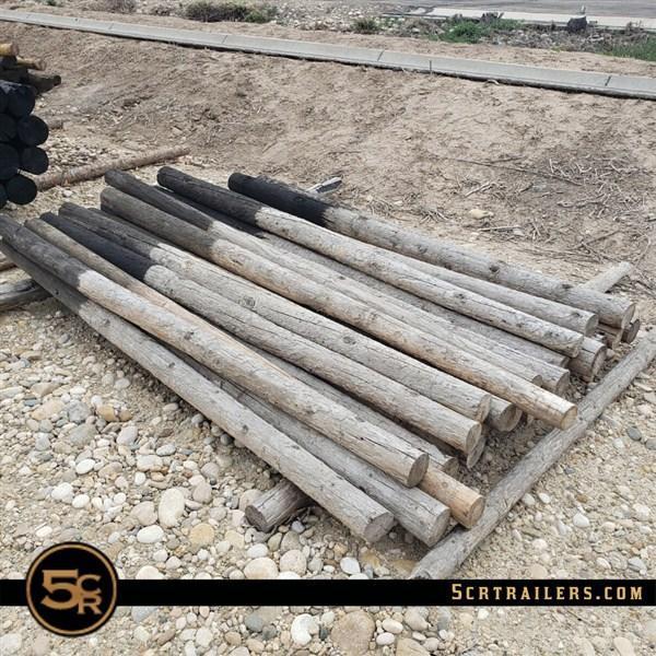 """Wood Posts - 8' x 4"""""""