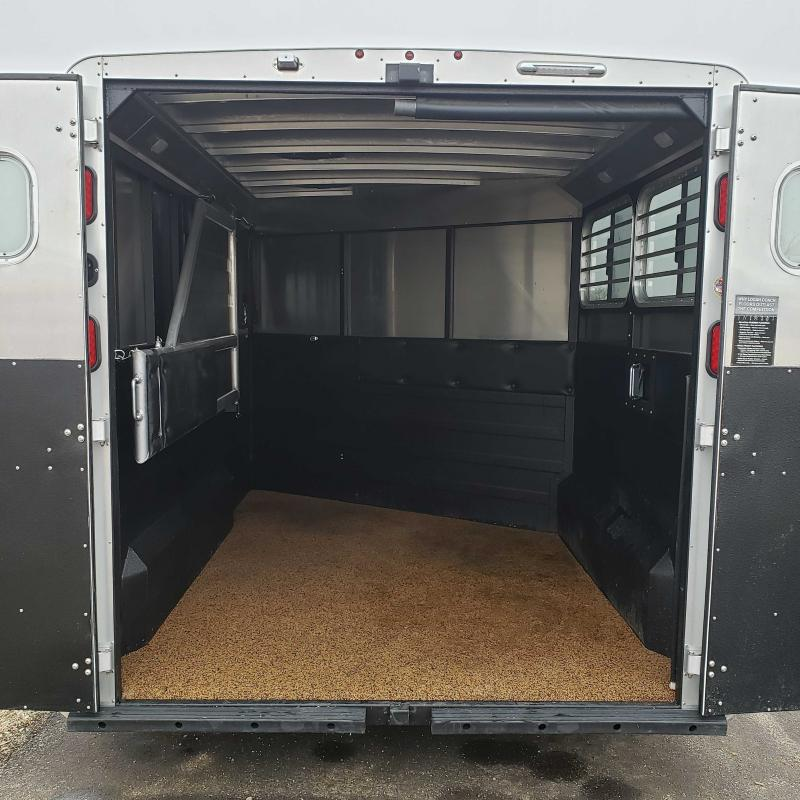 2019 Logan Coach Rampage 2H BP Horse Trailer
