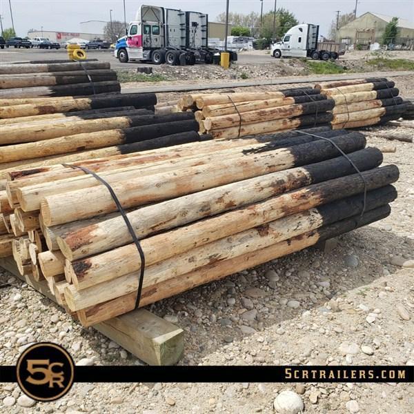 """Wood Posts - 8' x 5"""""""
