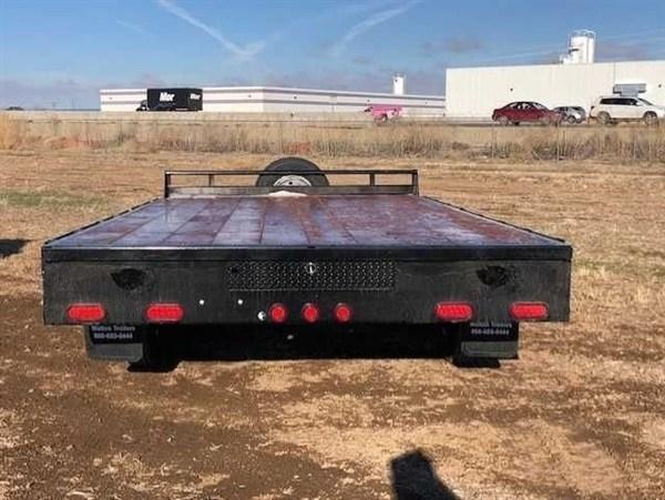 2020 Walton 16' Flatbed BP Equipment Trailer
