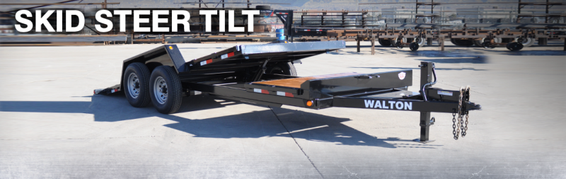 2021 Walton Trailers SST1016 Equipment Trailer