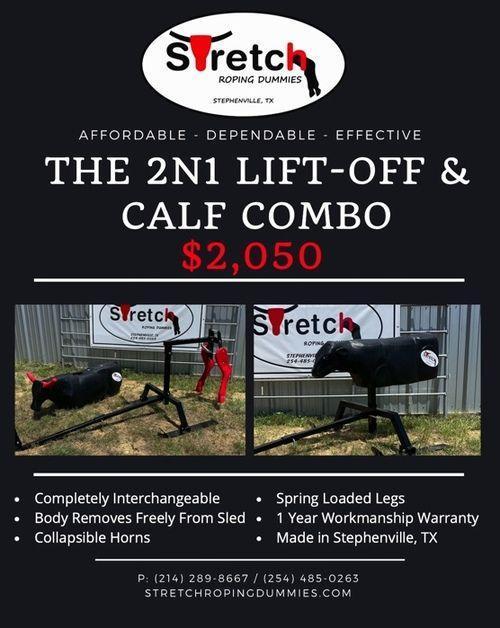2N1 Lift-Off & Calf Roping Sled