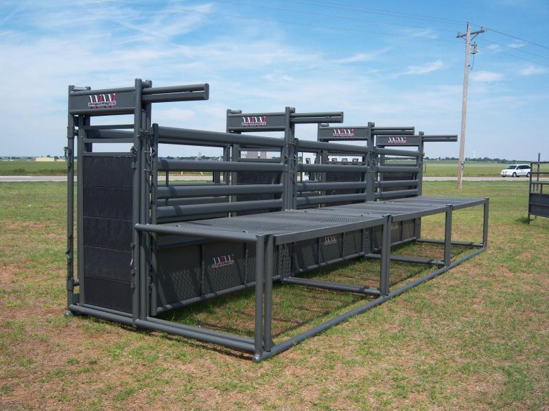 2020 WW Livestock Rodeo Bucking Chute