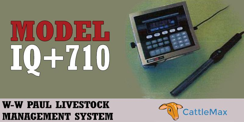 WW Livestock IQ 710 Digital Animal Weight Recorder Scale