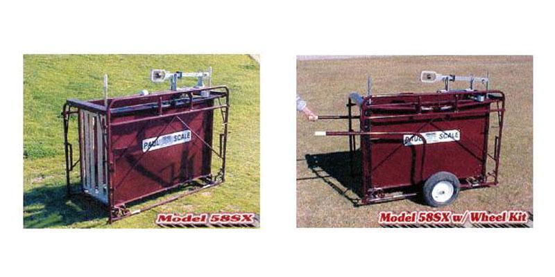 58SX Hog and Sheep Crate Scale
