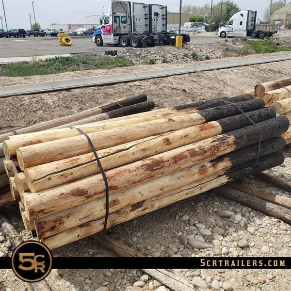"""Wood Posts - 8' x 6"""""""