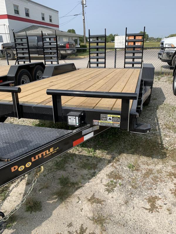 2021 DooLitttle Trailers 82x18 Equipment Trailer