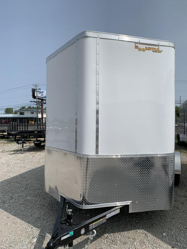 2021 DooLitttle Trailers 7x12 Enclosed Cargo Trailer
