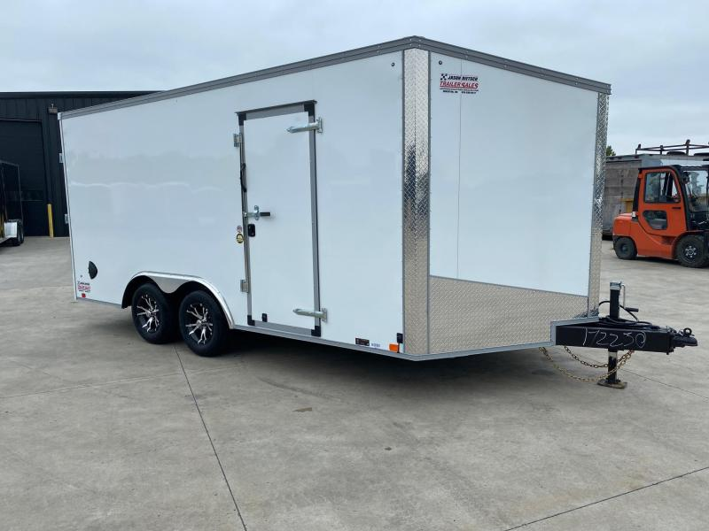 2021 United Trailers XLTV 8.5x19 Wedge-Nose Enclosed Car Hauler....Stock # UN-172230