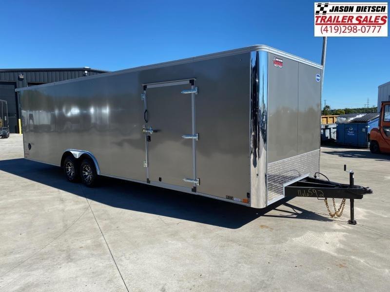 2021 United XLT 8 5X28 Enclosed Car Race Trailer