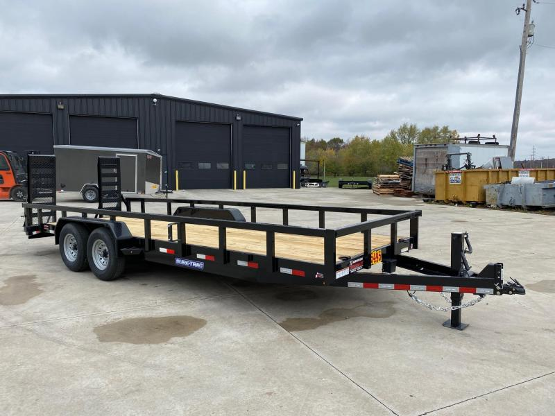 2021 Sure-Trac 7 x 22 (20+2) Heavy Duty Equipment Trail